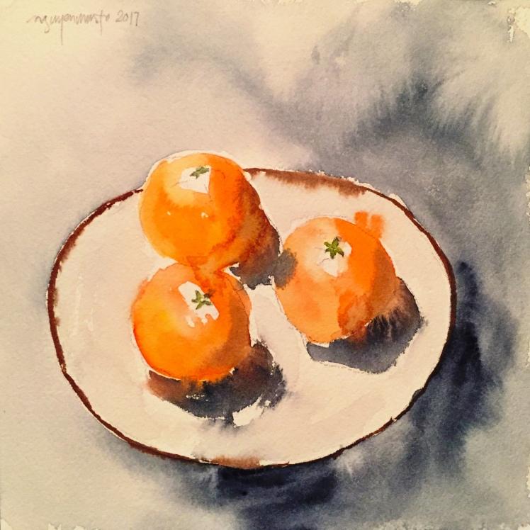3-tangerines